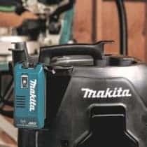 MakitaUSA、AWS Adaptor『WUT02』を販売。AC集じん機が無線連動AWSに対応