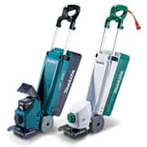 マキタ MLM160D 充電式タテ型芝刈機 家庭で使いやすい160mm刈込スリムボディ