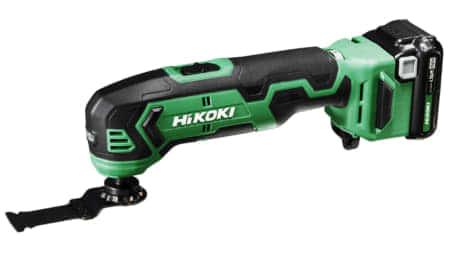 HiKOKI、10.8Vシリーズの新製品 マルチツール「CV12DA」を発売。軽量コンパクト マルチツール