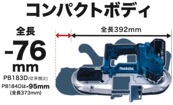 マキタ バンドソー PB183D  カタログ