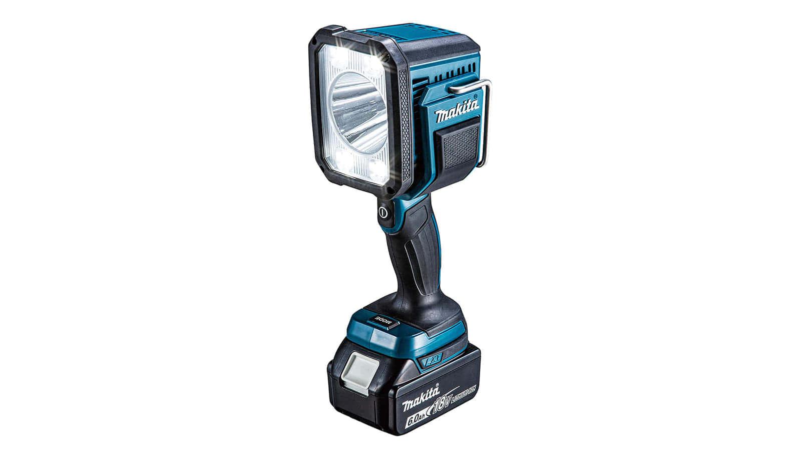 マキタ ML812 充電式ライト、コンパクトサイズで1,250lmの大光量