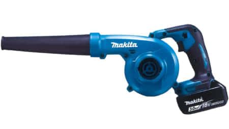 マキタ 充電式ブロワ「UB185D」従来モデルから23%の風量アップ