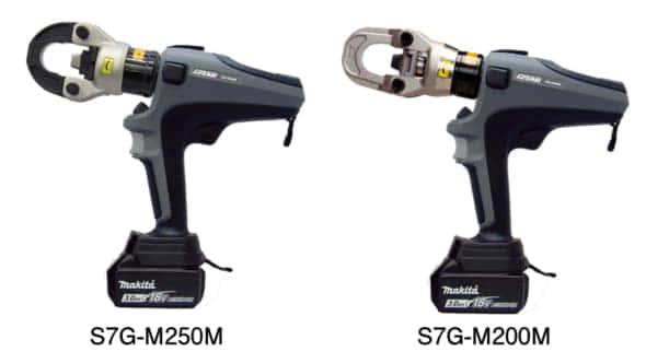 マクセルイズミ 泉精器 S7G-M200M S7G-M250M マキタバッテリー 圧着
