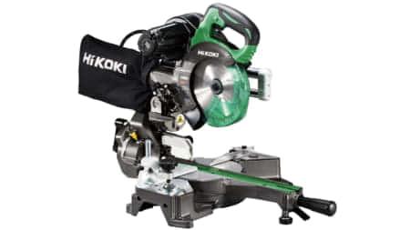HiKOKI、165mm卓上スライド丸のこ「C6RSHD」を発売。8寸切断・静音2段ベルトのACモデル