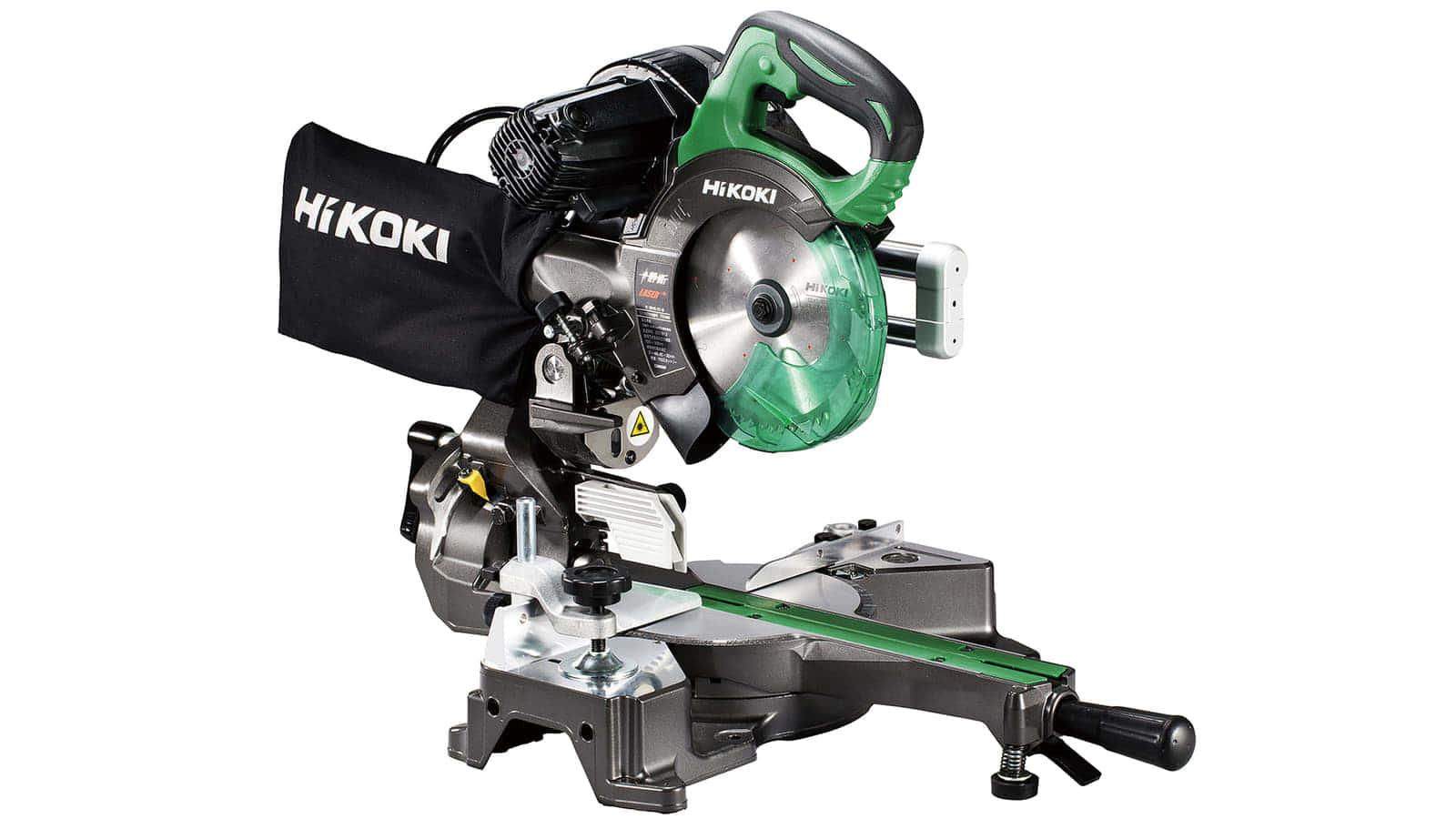 HiKOKI C6RSHD 165mm卓上スライド丸のこ、8寸切断・静音2段ベルトのACモデル
