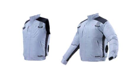 マキタ、フルハーネス対応充電式ファンベスト「FV410DZ」 充電式ファンジャケット「FJ419DZ」を発売