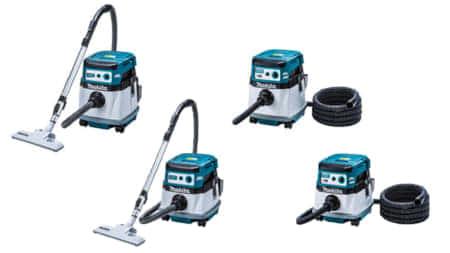 マキタ、充電式集塵機4機種を同時発売。「VC865DZ」「VC155DZ」「VC867DZ」「VC157DZ」集塵機ラインナップを一新