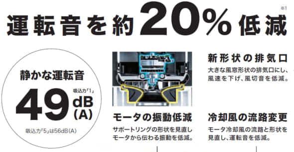 マキタ VC866D 充電式集塵機 掃除機 カタログ