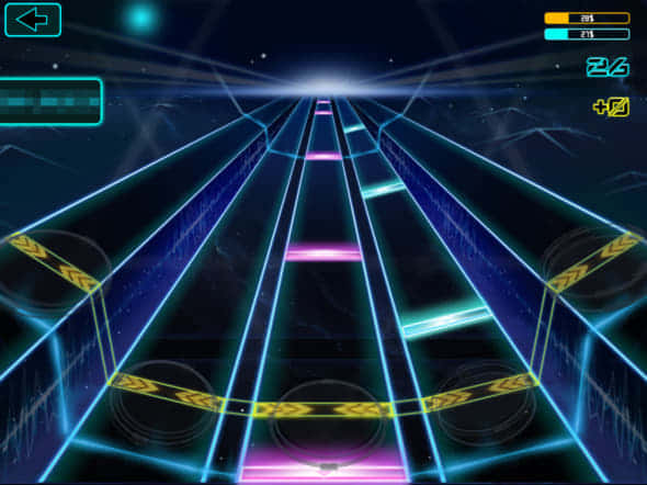 AeroBand ゲーム画面