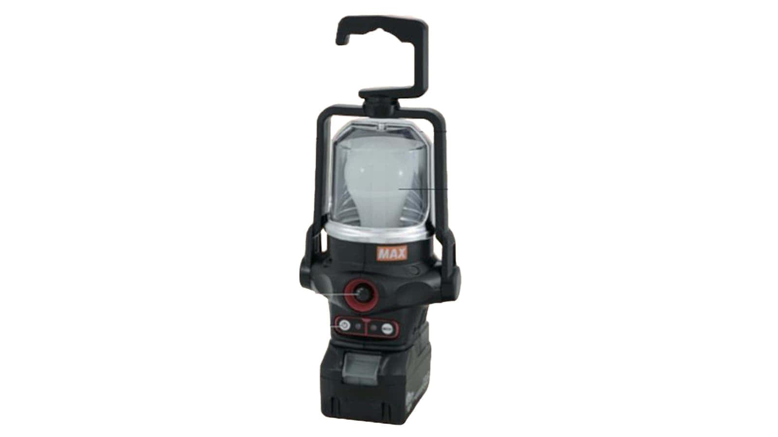 マックス AJ-LT91 充電式パワーランプ、人感センサーを搭載