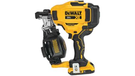 DeWALT DCN45RN 充電式釘打ち機、コイル釘対応で釘打ち機市場は変革の時代へ