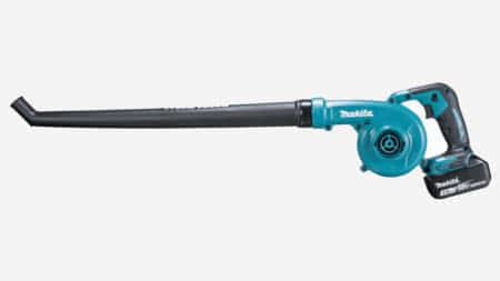 マキタ UB186D 18V充電式ブロワ、屋外清掃に使えるガーデンノズル仕様