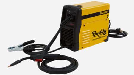 SUZUKID 小型軽量のノンガス100V直流インバータ半自動溶接機Buddyを発売