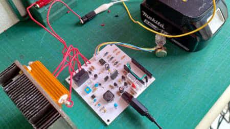 電動工具の互換バッテリー容量を測定。容量・性能共に純正品には適わず