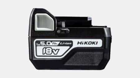 HiKOKI 新型のコンパクト18Vバッテリー「BSL1850C」を発売