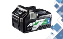 HiKOKI 新型マルチボルトバッテリー「BSL36A18B」、Bluetoothを搭載