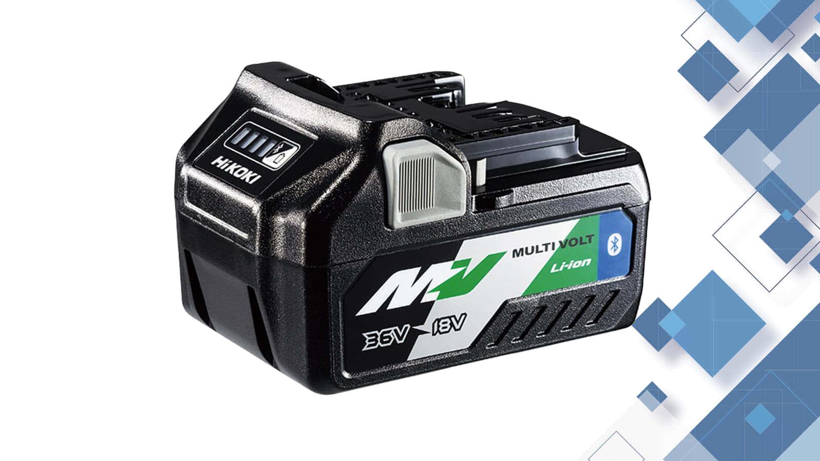 HiKOKI BSL36A18B Bluetoothマルチボルトバッテリー