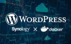 Synology NASのDockerでWordPress環境を構築する