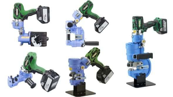 HiKOKI 鋼材加工機 油圧工具 亀倉精機