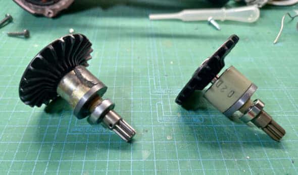 マキタTD170D 修理 ローター
