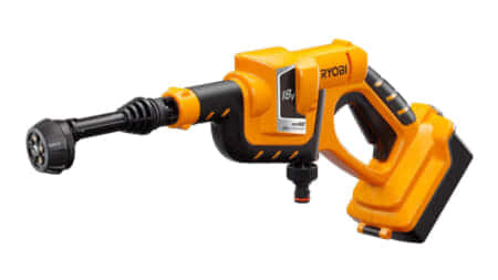 RYOBI BPW-1800L1 充電式ポータブルウォッシャー、タンクレスの高圧洗浄機