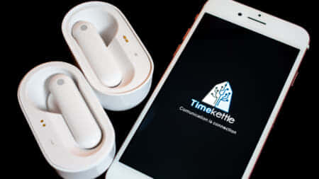 Timekettle M2 イヤホン型のハンズフリー翻訳機、音楽・通話にも使えるワイヤレスイヤホン