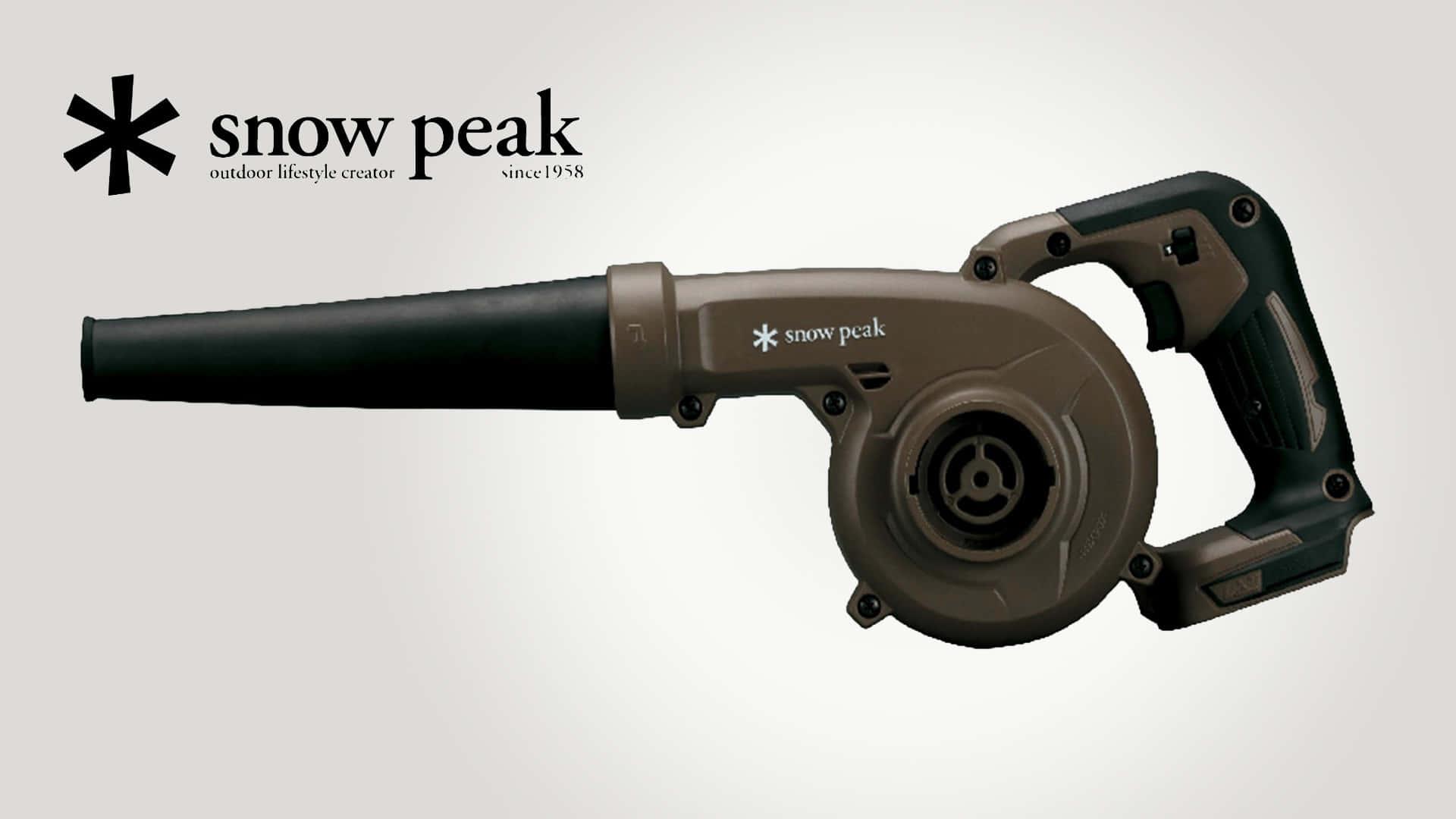 SnowPeak×マキタキャンプギア第二段、MKT-103 フィールドブロワが発売