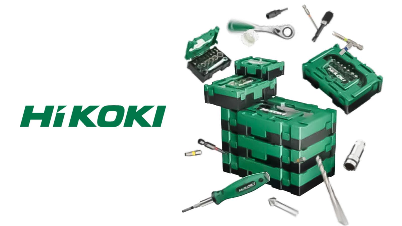 HiKOKI スタッカブルシリーズ、手のひらサイズのアクセサリセット