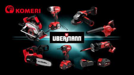 コメリ プロ向け電動工具シリーズ「UBERMANN(ウーバマン)シリーズ」を展開